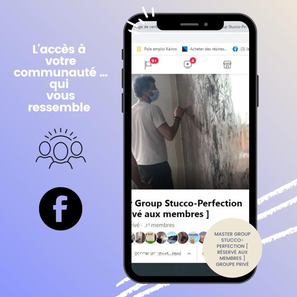 Master Group Stucco-Perfection Réservé aux membres Groupe Privé nice