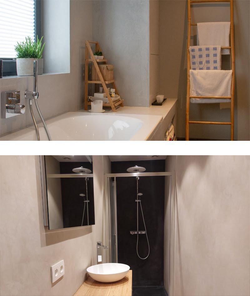 Salle de bain 2 réalisé avec Stonat Perfect enduits decoratif naturel et ecologique Ecobati