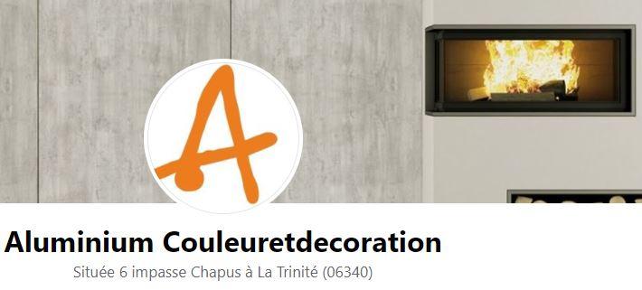 logo Entreprise Aluminium Couleur et Decoration